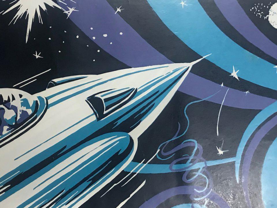 Rocket fired towards planet