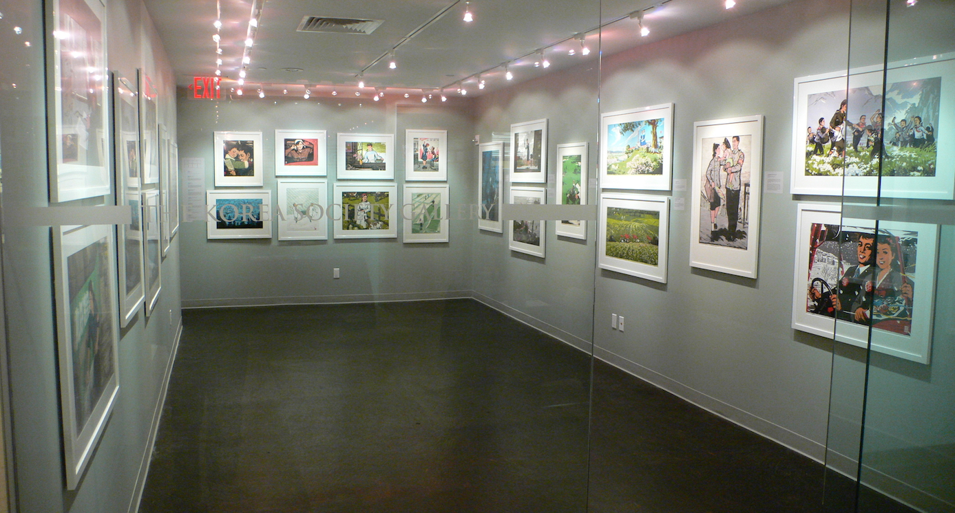 Korea Society Linocut Exhibition