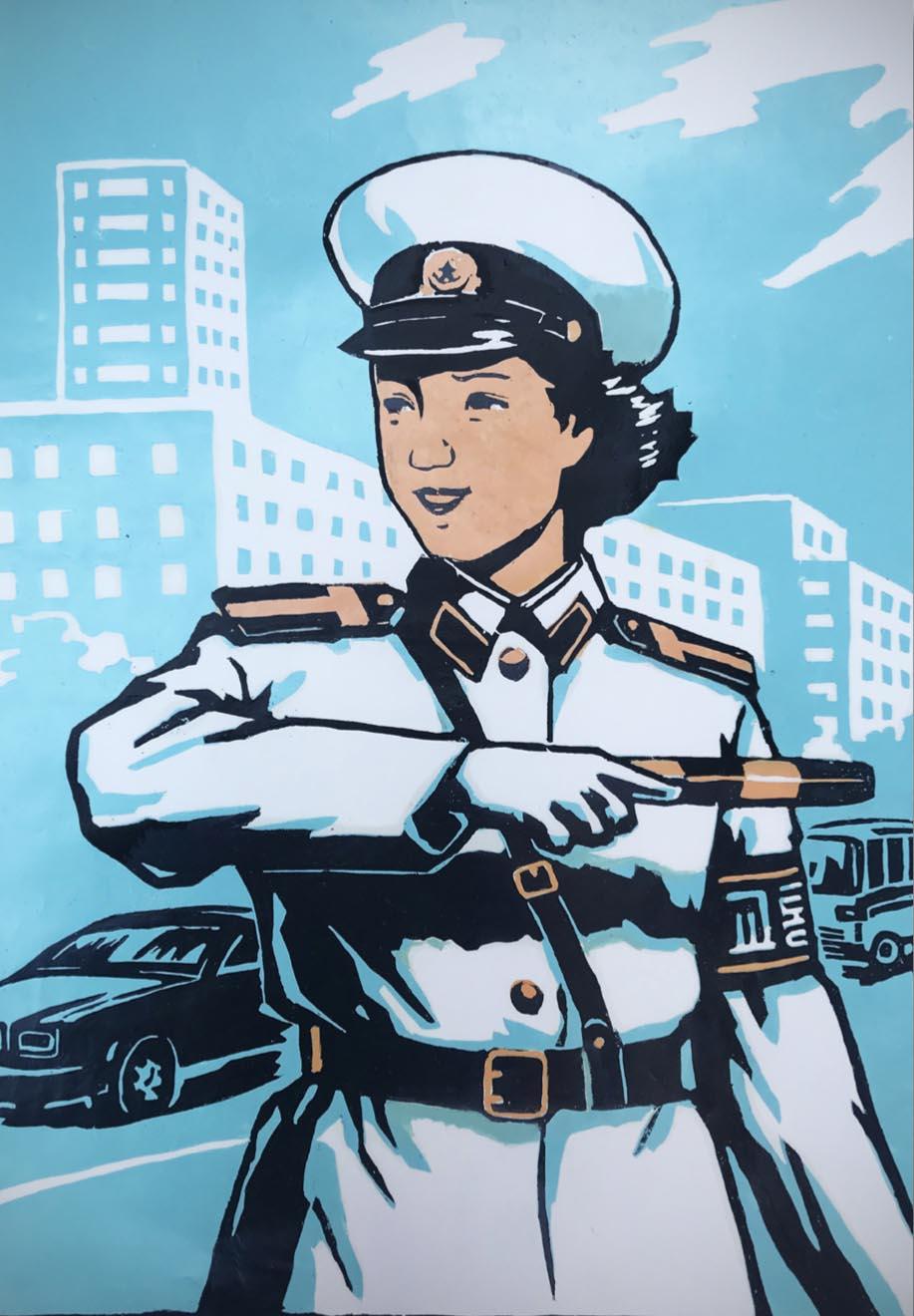 traffic-lady