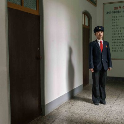 #100. KIM JIN HAK, 20, Landscaping Student, Agriculture University, Wonsan