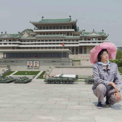 #24. RI GYONG SUN, 45, Maintaining Ancient History Section, Folk Park Pyongyang