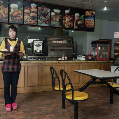 #26. LI GYONG SON, 26, Waitress, Hamburger Restaurant