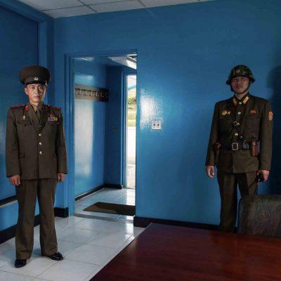 #38. NAM DONG HO, Military Guide, UN Hut, DMZ