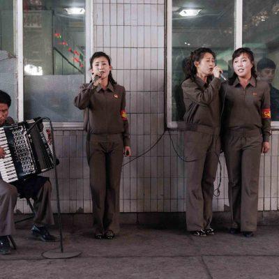 #62. Accordionist + Singers, Chollima Steelworks