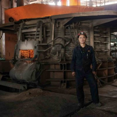 #63. WON IL MYONG, 38, Furnace Worker, Chollima Steelworks