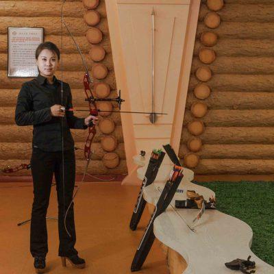 #70. JON HYON MI, 24, Casino Service Lady, Meari Shooting Range Archery Room