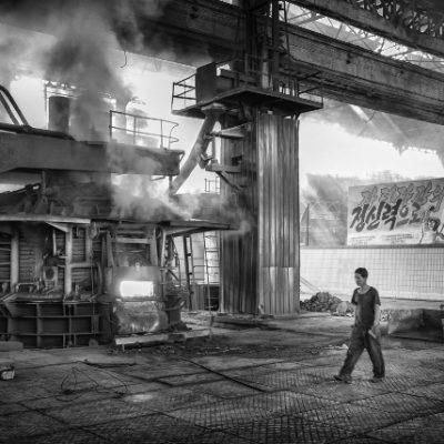Chollima Steel factory DPRK