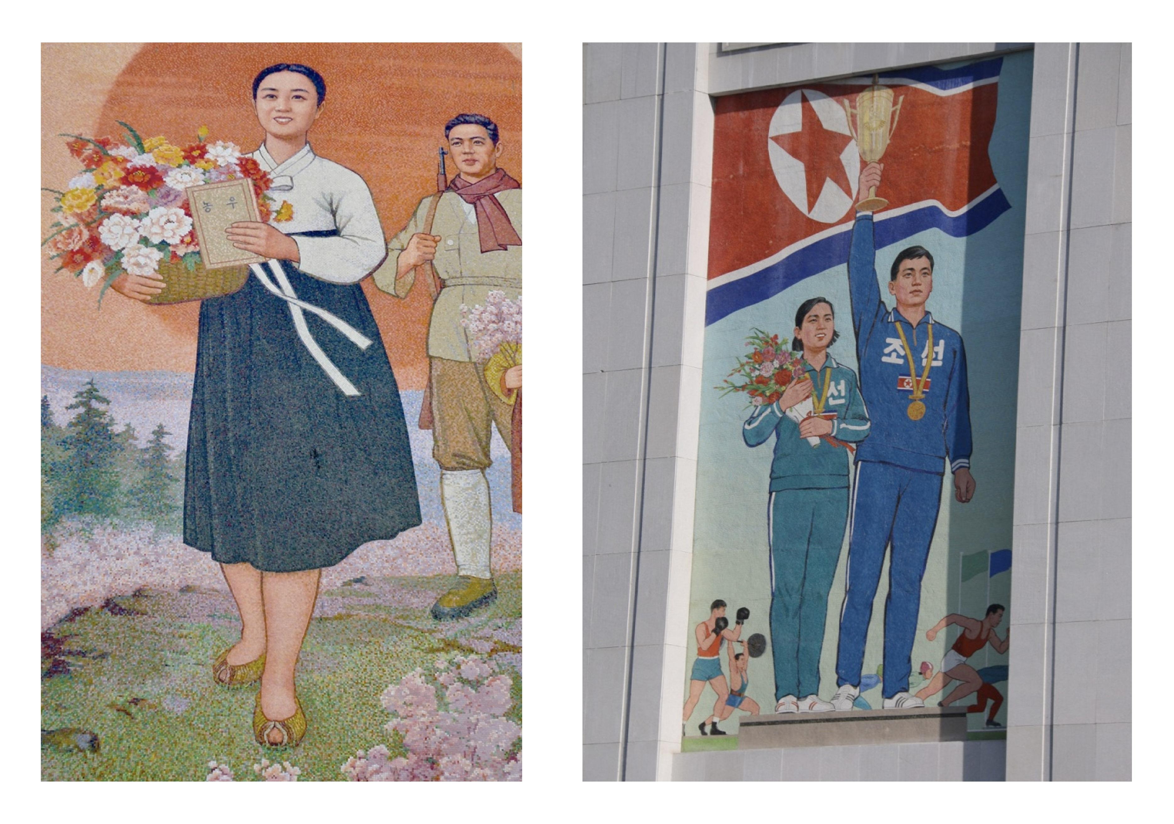 Flower Girl, North Korea