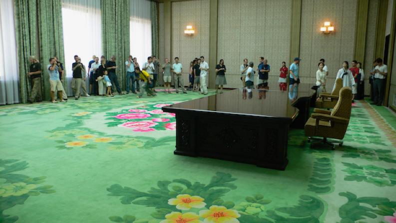 North Korea carpets