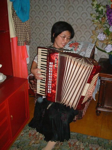 Accordion, North Korean Performance