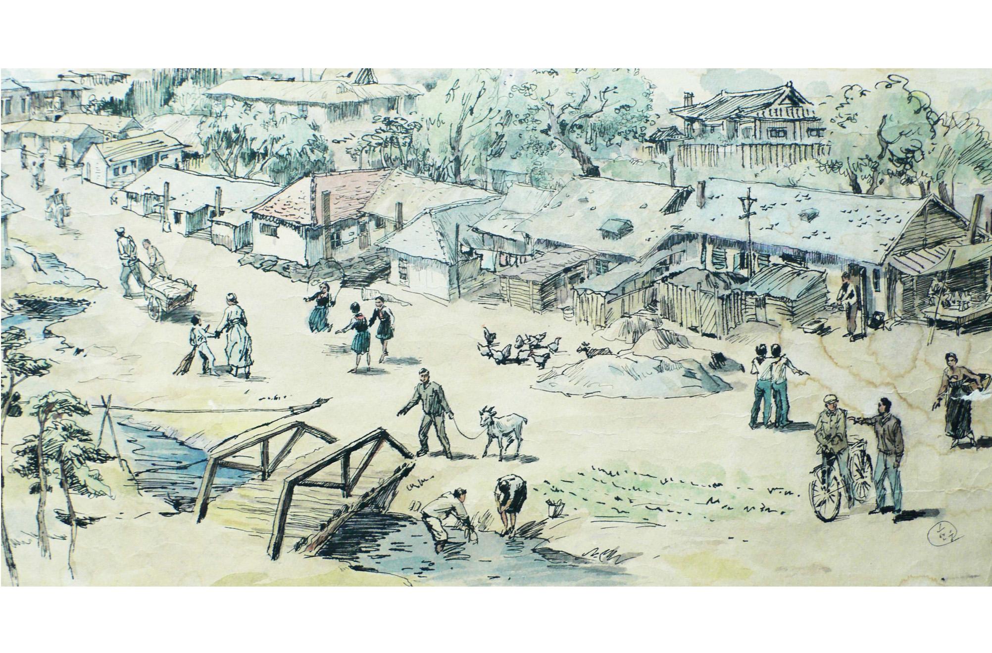 North Korean Oil sketches